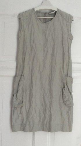 Sarah Pacini Shortsleeve Dress light grey cotton
