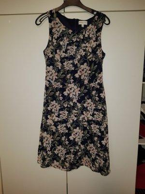 Apricot Shortsleeve Dress pink-dark blue