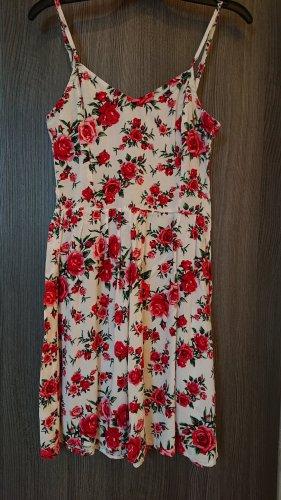 devided Pinafore dress multicolored viscose