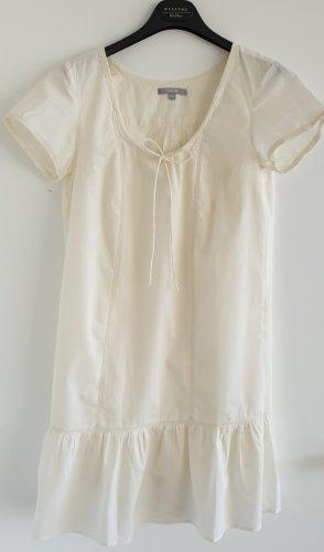 Sommerkleid mit Häkelspitze, creme-weiß, Gr. 34
