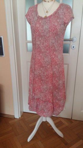 Linea Tesini Sukienka z rękawem balonowym różowy
