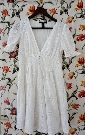 Sommerkleid mit V Ausschnitt
