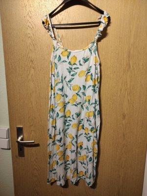 Sommerkleid mit Zitronen Größe 40/42