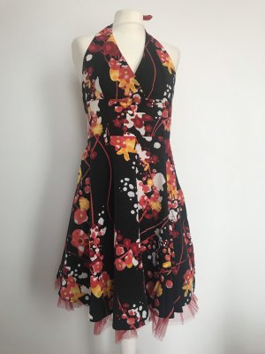 Rinascimento Sukienka z dekoltem typu halter Wielokolorowy