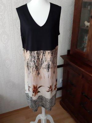 Witt Weiden T-shirt jurk zwart-beige