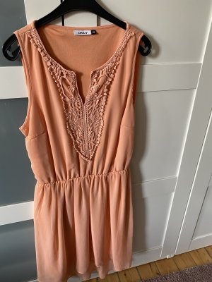 Only High Low Dress apricot