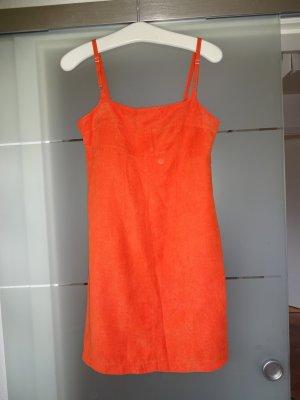 Sommerkleid orange von Hennes