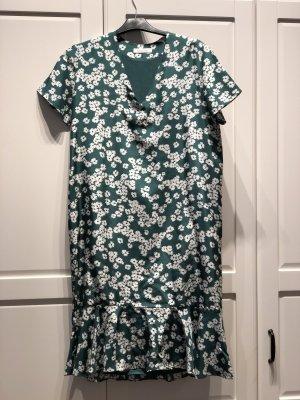 Sommerkleid oversized in Grün
