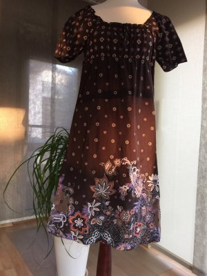s.Oliver Empire Dress brown