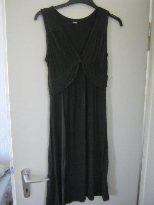 s.Oliver Vestido de tubo marrón oscuro