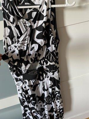 Kookai Abito aderente nero-bianco