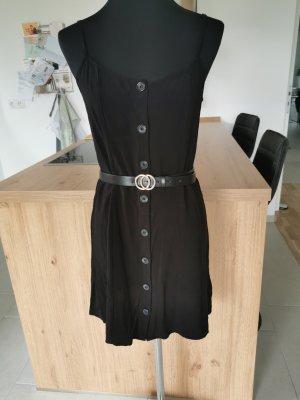 Sommerkleid Schwarz H&M Größe S