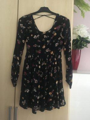 Clockhouse Vestido de Verano negro Viscosa
