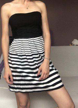 Sommerkleid schwarz/weiß