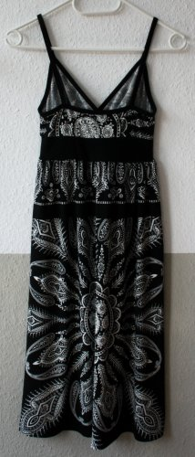 Sommerkleid schwarz weiß