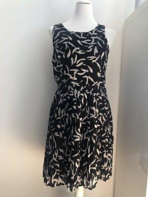 Sommerkleid schwarz weiß GAP Größe 40
