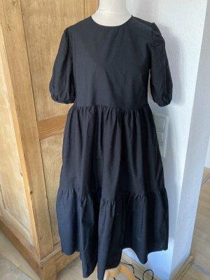 Sommerkleid schwarz YAS, inkl. Versand