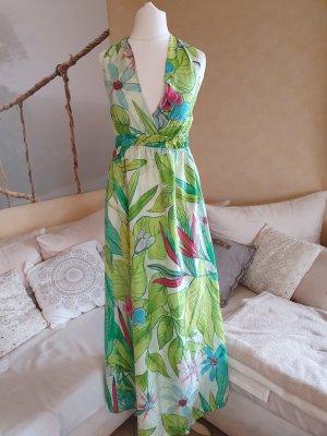 0039 Italy Sukienka maxi Wielokolorowy