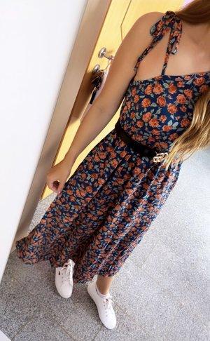 Abendkleid Robe mi-longue multicolore