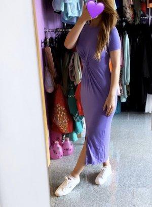Abendkleid Robe t-shirt multicolore