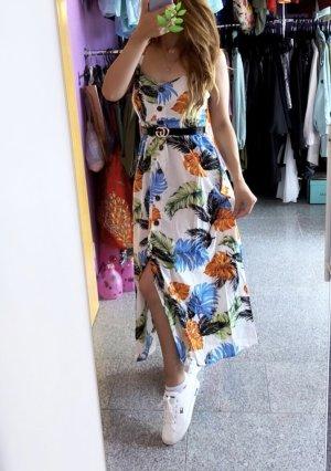 Abendkleid Midi-jurk veelkleurig