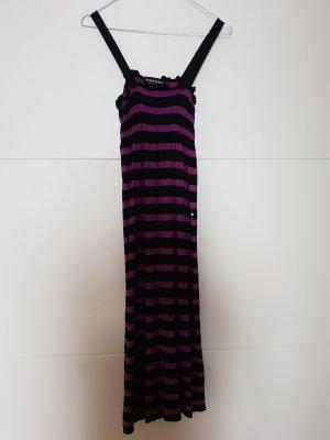 Sonia Rykiel Letnia sukienka czarny-fiolet