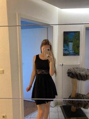 Tally Weijl Sukienka z baskinką czarny
