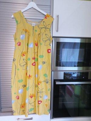 Sommerkleid, Strandkleid, Badekleid, Gr. 44, gelb