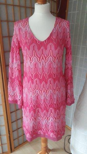 Sommerkleid traumhaft Pink, Moschino-Style