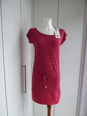 Ragwear Shirt Dress red-black cotton