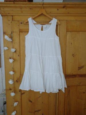 Vila Robe empire blanc coton
