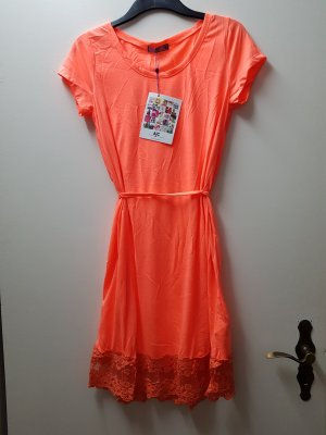 AJC Shortsleeve Dress neon orange