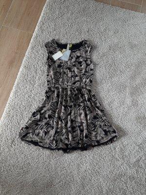 Alife & Kickin Summer Dress black-brown