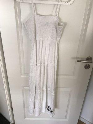 Alprausch Robe mi-longue blanc