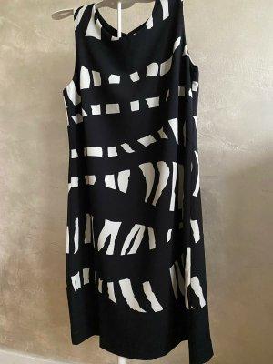 Ana Alcazar Robe d'été blanc-noir polyester