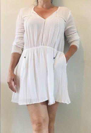 Anine Bing Abito blusa camicia bianco Modal