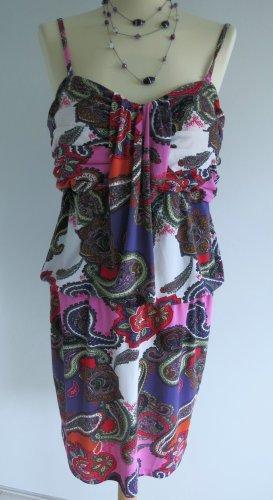 Apart Robe à bretelles multicolore