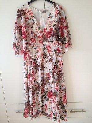 Asos Midi-jurk wit-rood