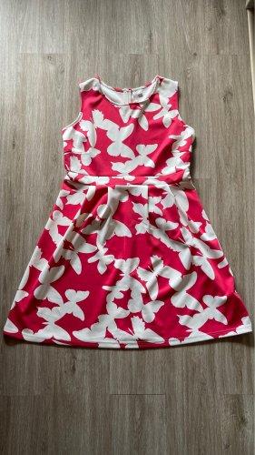BODY FLIRT Summer Dress pink-white