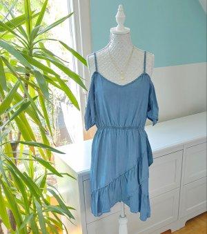 Clockhouse Off-The-Shoulder Dress multicolored