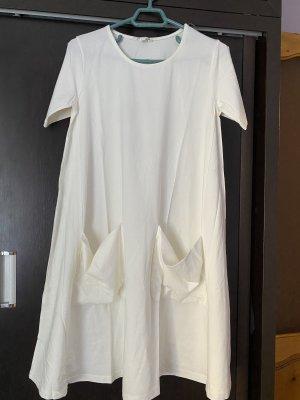 COS Vestido de Verano blanco-blanco puro