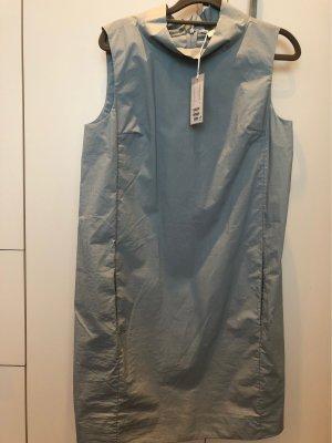 COS Robe mi-longue bleu pâle coton