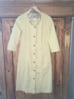 COS Robe chemise doré-jaune foncé coton