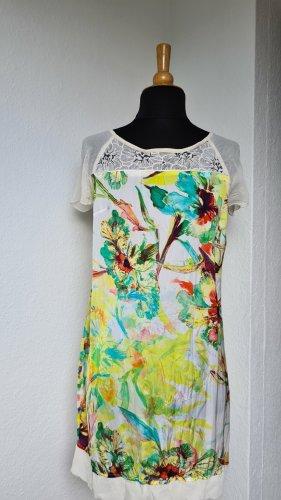 Sommerkleid von DIDI Gr. S, fällt aus wie 38, edle Satinoptik