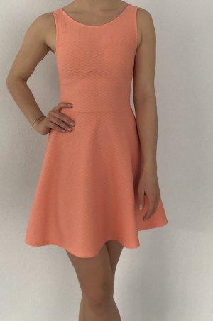 devided Summer Dress apricot