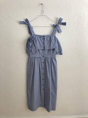 Edited Robe crayon bleu azur-bleu foncé