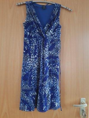Esprit Chiffon jurk blauw