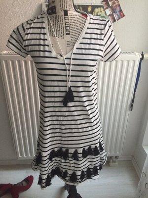 Lilienfels Summer Dress white-black