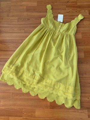 Ted baker Vestido corte imperio amarillo limón