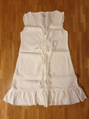 Zara Woman Vestido playero blanco
